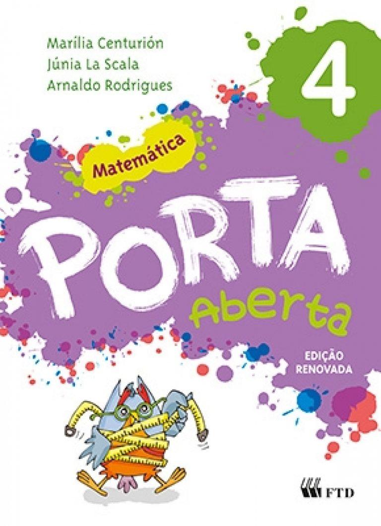 Porta Aberta - Matemática - 4º ano (Ed. Renovada)
