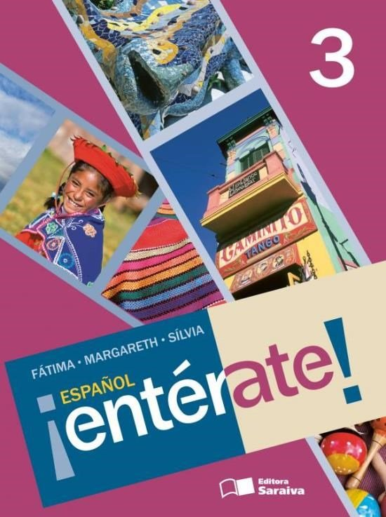 Español Entérate ! - 8º Ano - Com CD - 4ª Ed. 2011