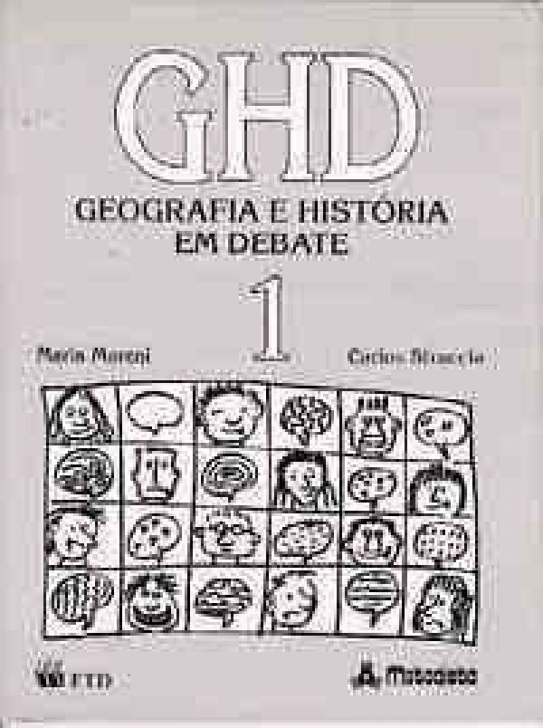 Ghd - Vol.1 - Geografia e Historia em Debate