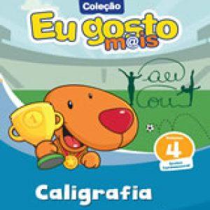 EU GOSTO MAIS CALIGRAFIA VOLUME 4