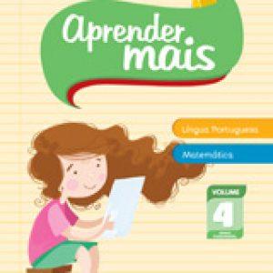 APRENDER MAIS - LÍNGUA PORT. E MATEMÁTICA - VOL. 4